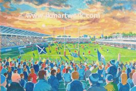 Hand Painted original of scotstoun
